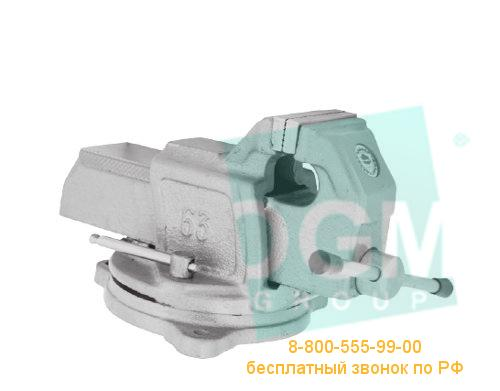 Тиски слесарные поворотные BISON 1255-125L