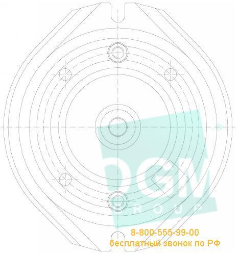 Основание поворотное для тисков BISON 6588-3