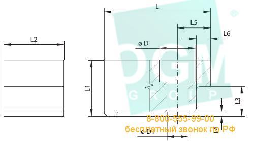 Прижим к тискам BISON ZS 6620-125