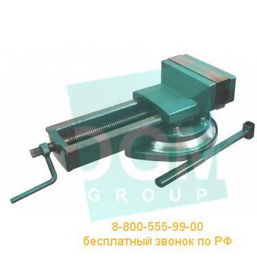 Тиски станочные поворотные 7200-3210 (А=125мм; В=125мм)