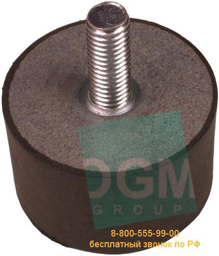 Амортизатор ЕС(D) 20х12VE18M М6х18 60Sh