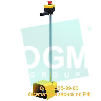 Педаль с защитной крышкой PDKA11GX10 2*(1НО+1НЗ)