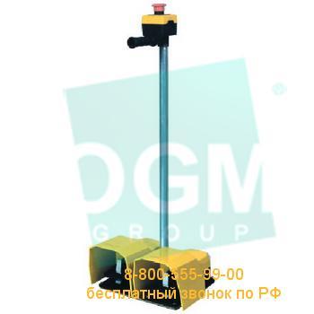 Педаль двойная PDKA22GG10 2*(1НО+1НЗ)+2*(1НО+1НЗ)