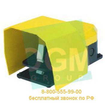 Педаль с защитной крышкой PDKS11GX10 2*(1НО+1НЗ)