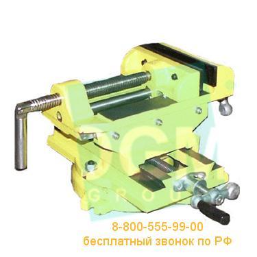 Тиски станочные координатные Микротех ТСКП-100