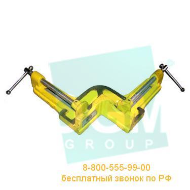 Тиски слесарные угловые Микротех ТСЛУ-107