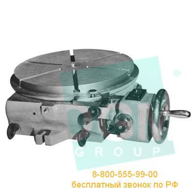 Стол поворотный 7400-4040 ф400мм с механической системой отсчета