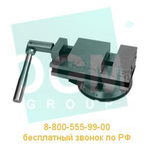 Тиски станочные поворотные 7200-0206-02 (100мм) сталь, Бар.