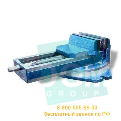 Тиски станочные поворотные ГМ-7225П-02 / 7200-0225-03 (А=250мм) чугун