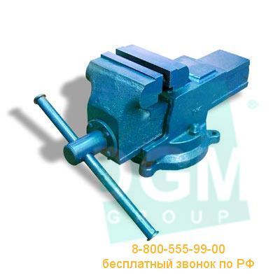 Тиски слесарные поворотные ТСЧ-125 (Гомель)