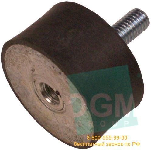 Амортизатор ЕС(B) 25х20VD18W М6х18 M6 45Sh