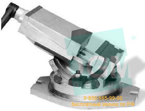 Тиски станочные универсальные с поворотным основанием SS-100