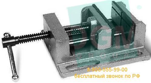 Тиски станочные с высокими губками SVV-100 (A=100мм; B=46мм)